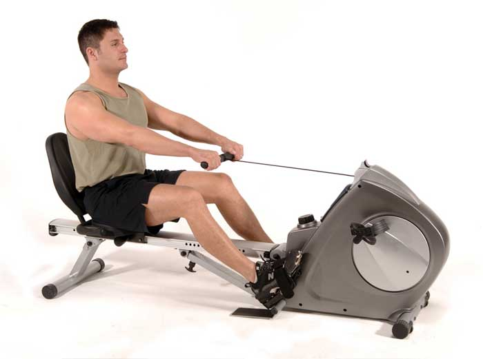 Stamina Conversion II Recumbent Exercise Bike and Rower