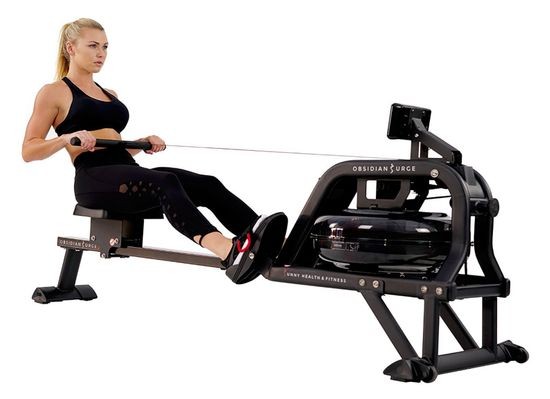 Sunny Health & Fitness Water Rowing Machine Rower