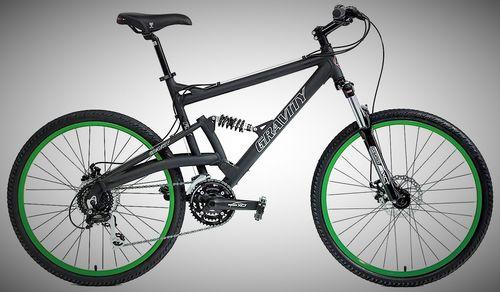 Gravity FSX 2.0 Dual Full Suspension Mountain Bike